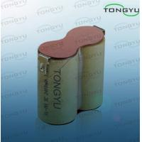 Electric Tool Nimh Rechargeable Battery , Ni-MH SC 2400mAh 2.4V Rechargeable Pack Manufactures