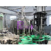 4.2Kw Full Automatic Non - Gas Juice Drink Filling Machine For Glass Bottle Manufactures