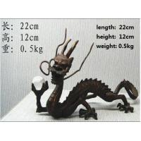 Quality bronze antique imitation Chinese Geomancy Dragon for sale