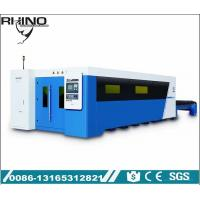 Full Covered Fiber Laser Cutting Machine Raycus 1000W 2000W Type With Exchange Table Manufactures