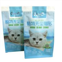 Food Packaging Plastic Ziplock Bags Customized Square Bottom Zipper Lock For Snack Manufactures
