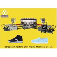 Buy cheap 20 Stations Canvas Shoe Making Machine , Rotary Sole Injection Moulding Machine  from wholesalers
