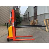 Mobile1 Ton Manual Hydraulic Stacker Lift Truck , Electric Lift Pallet Stacker Manufactures