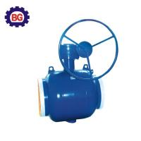 Factory Direct Sale Welding Type Worm Gear Fully Welded Ball Valve Manufactures