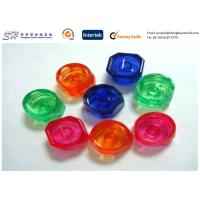 China ABS + PC Low Volume Injection Molding Products Red Blue Green Color Optional on sale