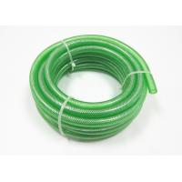 China PVC Clear Nylon Braided Hose Flexible Plastic Fiber Reinforced Hose on sale
