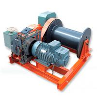 Low Speed Electric Wire Rope Winch For Hoisting 2 Ton - 10 Ton Manufactures