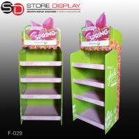custom made cardboard corrugated paper stand shelf for gift box Manufactures