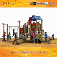 PE Orange Children Playground Equipment For Kindergarden Outdoor Manufactures