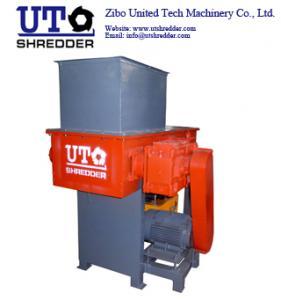 China Single Shaft  Shredder S2260 automatic Plastic, tire, wood, metal, cable shredding machine crusher on sale