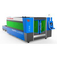 Fiber Laser Industrial Cutting Machine With Cutting Thickness upto 10mm SS Manufactures