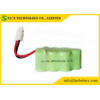 Customized Color Nickel Metal Hydride Battery NIMH Battery Pack 8.4V 1000mah Manufactures