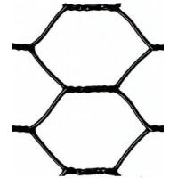 """Buy cheap Black Vinyl Coated Hexagonal Wire Netting 1"""" Mesh With 20 Gauge For Garden Fence from wholesalers"""