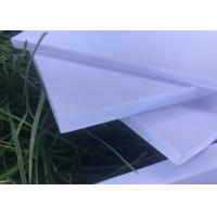 High Strength Expanded Foam Sheet , White Kitchen Exterior Foam Board Manufactures