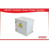 Hot Pluggable 48VDC Outdoor Installation Telecom Solar Power System SHW48100 Manufactures