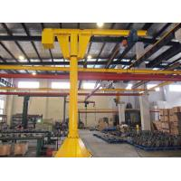 Slew Brake Truck Mounted Boom Jib Crane 250kg Lifting Load For Machine Centre Loading Manufactures