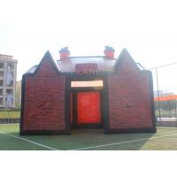 Large Inflatable Exhibition Tents , Inflatable Pub Tent With Electric Blower Manufactures