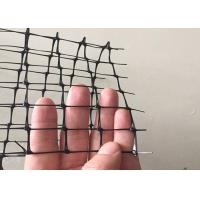 Black / Blue Plastic Deer Fence , Deer Fence Netting With UV Protection Manufactures