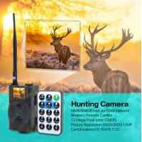 940NM balck LED lights 12MP infrared dvr hunting camera for wild animals scouting Manufactures