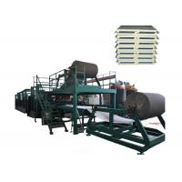 3 Phase 1200mm Automatic Continuous Sandwich Panel Line With High - Efficiency Manufactures