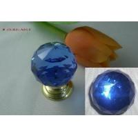 Blue Crystal Brass Knob (JD-KN-A013) Manufactures