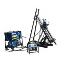 Rock Anchor Drilling Rig Hydraulic / Drill Machine Depth 30m For Railway Manufactures
