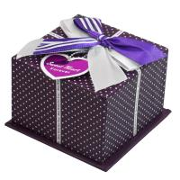 OEM / ODM Large Cardboard Christmas Gift Packaging Boxes For Toy , Butterfly Ribbon Manufactures