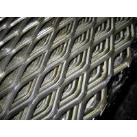 Galvanized Steel / Aluminium Expanded Metal Mesh Panels Plain Weave Perforated Tech Manufactures