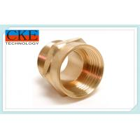 Custom High Speed Brass Machined Parts / Brass Turned Parts For Trucks , OEM ODM Manufactures