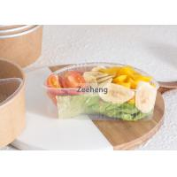 Rigid Disposable Divided Plastic Plates 2 Parts Microwavable No Harsh Chemicals Manufactures