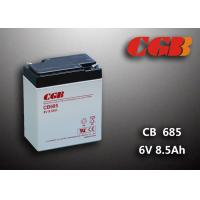 6V 8.5AH Gray AGM Sealed Lead Acid Battery CB685 For UPS / Medical Equipment Manufactures
