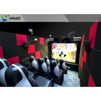Customized 5D Movie Theater Ocean park 5D Motion Cinema Arc Screen Luxury Chairs Manufactures