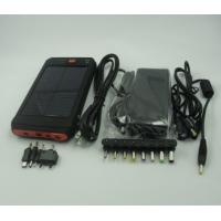 China high power 12000 mah battery solar charger for laptop and any mobile phones on sale