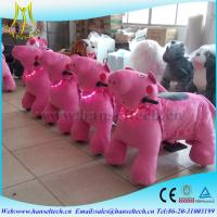 China Hansel best price children coin operated stuffed electric animal ride on toys on sale