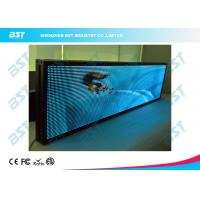 P7.62 nice looking Full Color LED moving sign with Synchronous / Asynchronous Control Manufactures