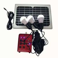 China 18V 10W Solar Panel Lights 3W LED 12V 4.5AH LiFePO4 Lithiumion Battery on sale