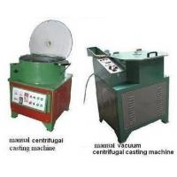 China manual centrifugal casting machine on sale