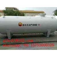 China China LPG Tank Manufacturer 60,000Liters White Carbon Steel Made Storage Tank for LPG on sale