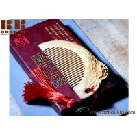 wood comb beard Custom eco-friendly natural wooden hair comb brush Manufactures