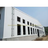 China Wide Span Warehouse Steel Structure Prefabricated Warehouse Buildings In Steel on sale