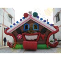 Huge Eye - Catching Advertising Inflatable Castle Bouncer For Childrens Party Manufactures