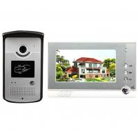 China 4 Wires Villa Video Door Phone video intercom system for villa  With High Security Video door camera on sale