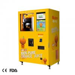 hospital yellow 220v 50HZ orange juice vending machine Manufactures