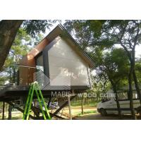 China Flexible Layout Prefabricated Wooden Houses Wind Proof No Construction Waste on sale