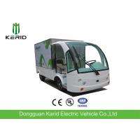 Food Truck Enclosed Cargo Box / Electric Cargo Vehicle 800kg Payload Manufactures