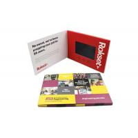 Big Memory Capacities Promotional Video Brochure With USB Port Connection Manufactures