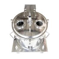 China CBD Oil Jacketed Industrial Centrifuge Hemp Oil Extraction Basket Separator on sale