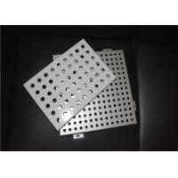 China Hot Dipped Galvanized Perforated Aluminum Ceiling Panel / Aluminum Board on sale
