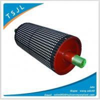 Quality Conveyor Drum Lagging with Ceramic pulley for sale