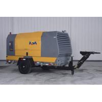 Movable Diesel Engine Driven Air Compressor , Pull Behind Air Compressor Manufactures